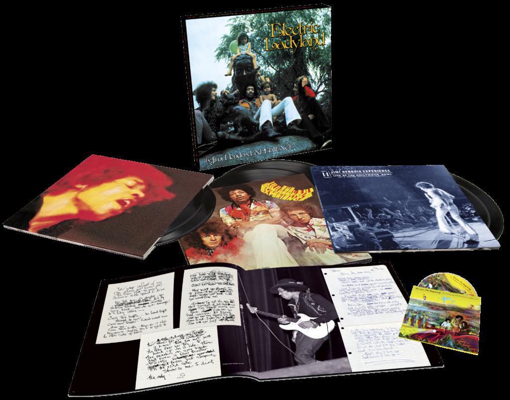 L'édition 6 LP + 1 Blu-Ray