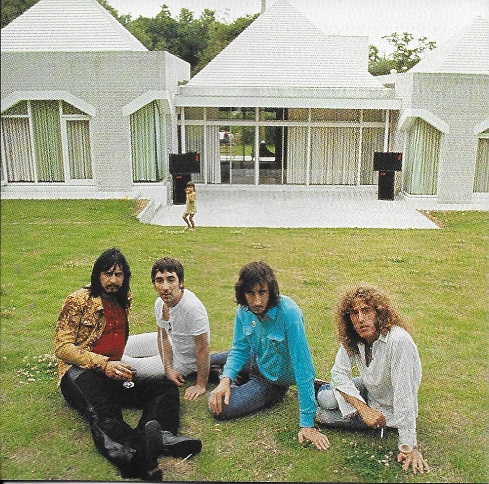 Les Who devant la maison de Keith Moon