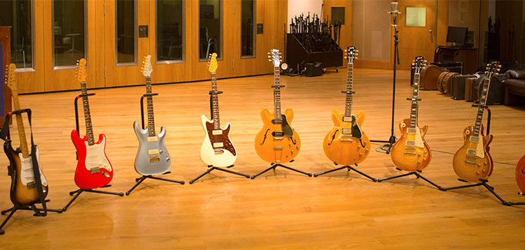guitares-Mark-Knopfler