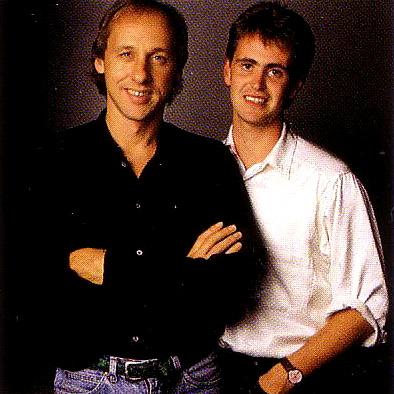 Mark Knopfler et Guy Fletcher