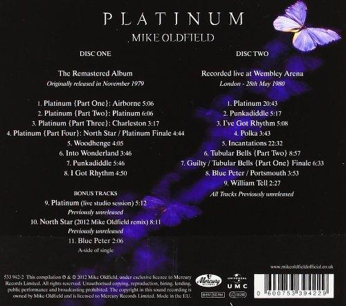 Oldfield Platinum deluxe 2012