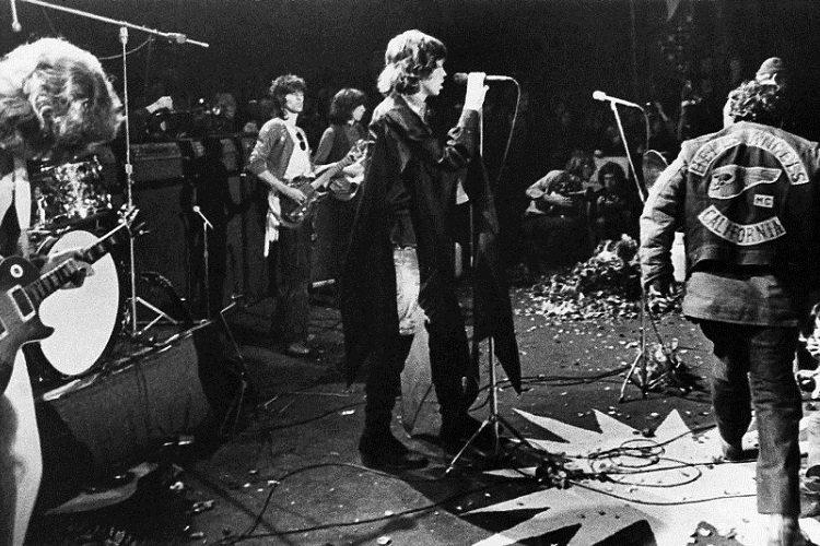 Rolling Stones Altamont