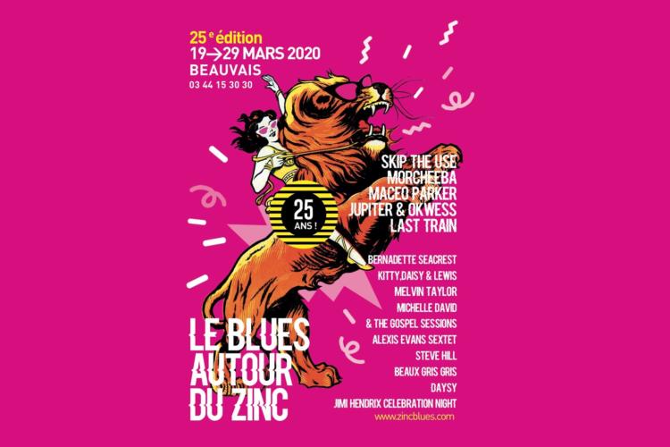 Blues Autour du Zinc Affiche