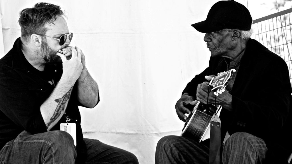 "Robert Connely Farr & Jimmy ""Duck"" Holmes - Image by RD Cane"