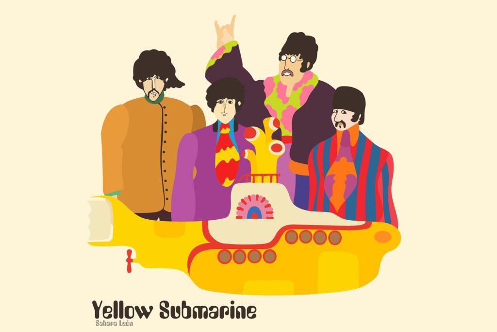 Betales Yellow submarine - Sahara León