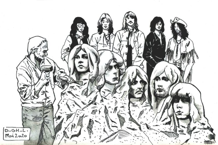deep purple in rock par Denys Legros