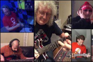 """Brian May propose de jammer avec lui avec le """"isolation jam challenge"""""""