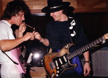 Jeff Beck & SRV