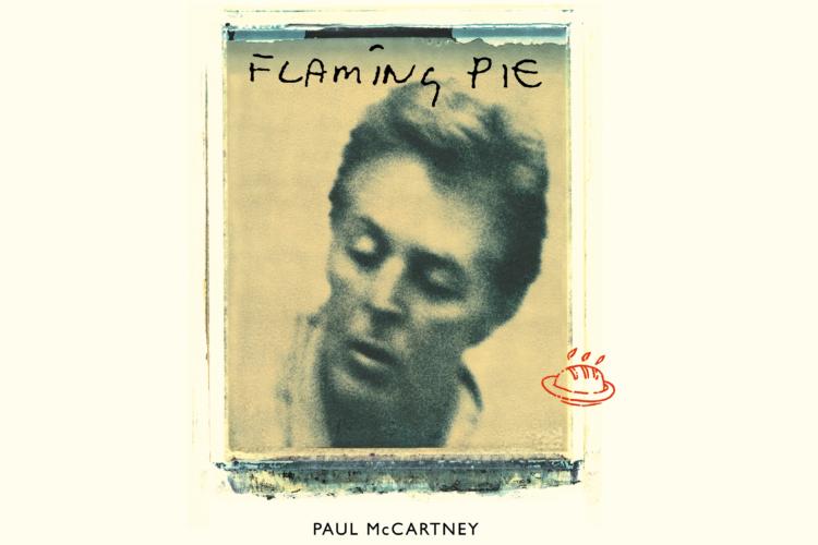 Paul McCartney Flaming pie Album Cover