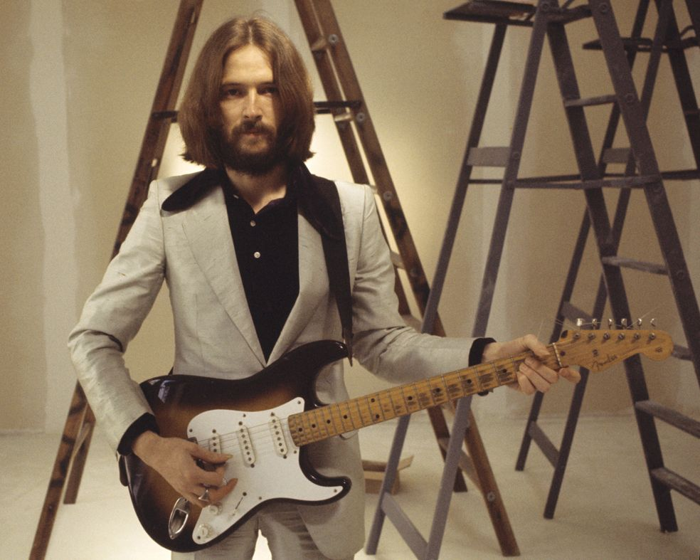 Eric Clapton 1970 © Barry Feinstein