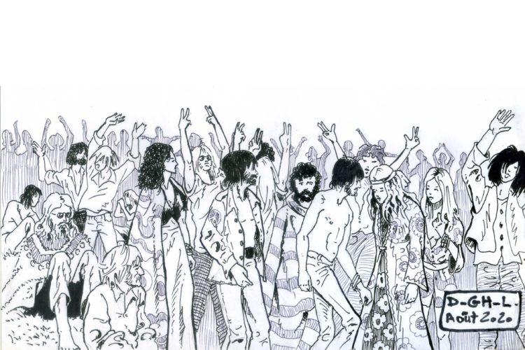 festival ile de Wight par Denys Legros
