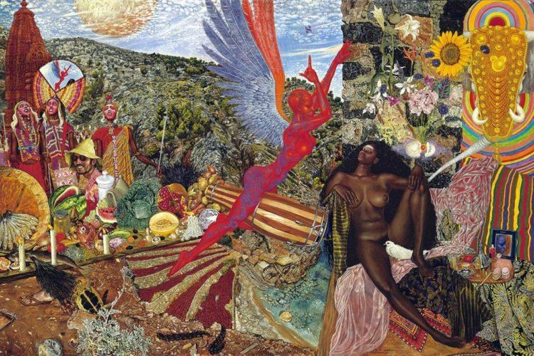 Santana Abraxas artwork