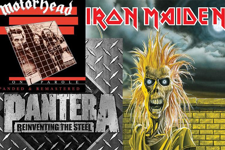 Motörhead, Iron Maiden, Pantera