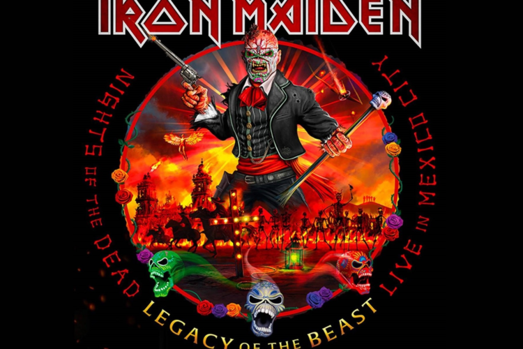 Iron Maiden - Nights of the dead - Legacy of the beast world tour