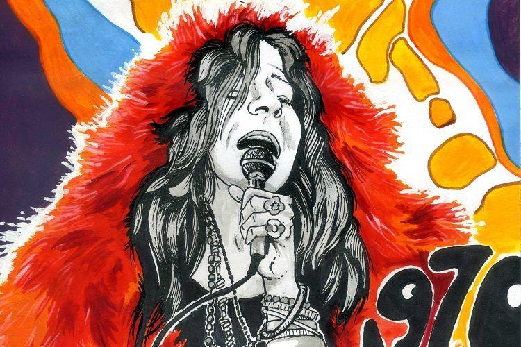 Janis Joplin par Denys Legros