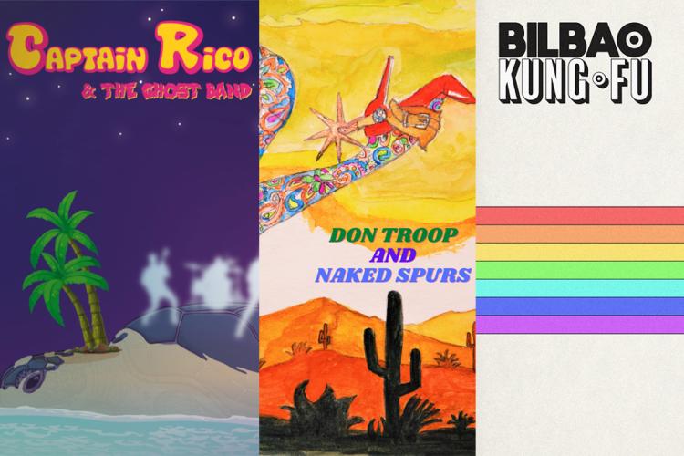 3 nouveautés qui sonnent vintage : Captain Rico, Don Troop et Bilbao Kung Fu