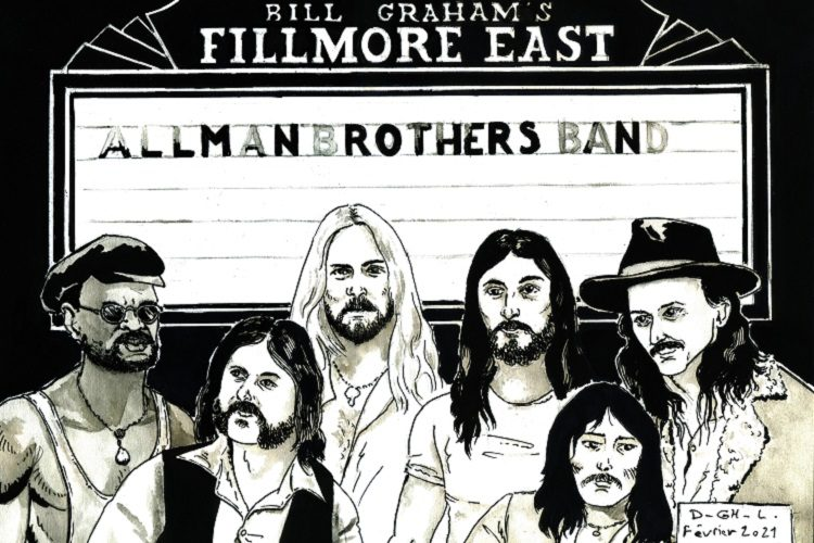allman brothers live at fillmore east Denys Legros
