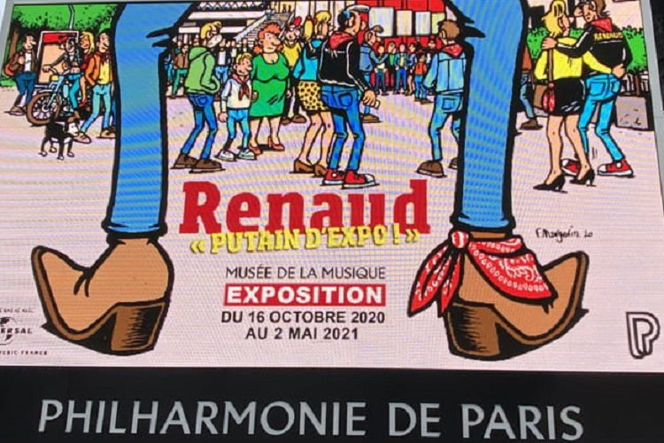 affiche expo Renaud
