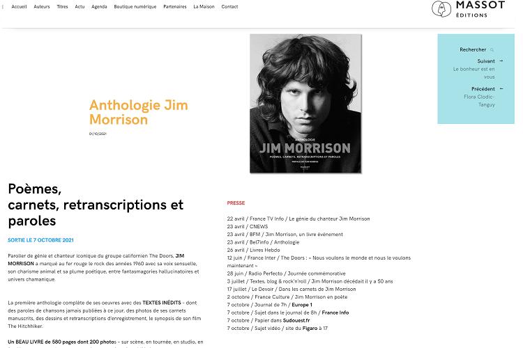 Morrison Editions Massot