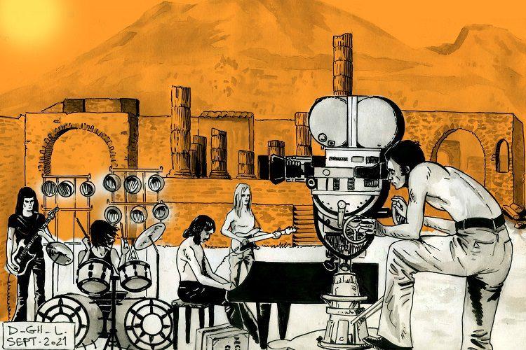 Pink Floyd Pompei par Denys Legros